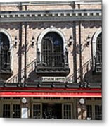 Ledson Hotel - Downtown Sonoma California - 5d19271 Metal Print by Wingsdomain Art and Photography