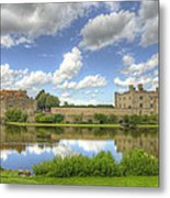 Leeds Castle Reflected Metal Print