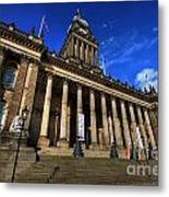 Leeds Town Hall Metal Print