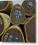 Legally Logged Trees Drc Metal Print