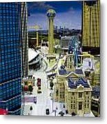 Legoland Dallas Iv Metal Print by Ricky Barnard