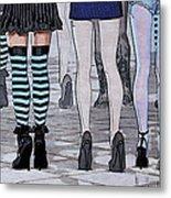 Legs Metal Print by Jutta Maria Pusl