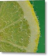 Lemon Slice Soda 1 Metal Print