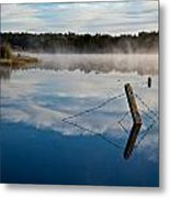 Lenthalls Dam 17 Metal Print by David Barringhaus