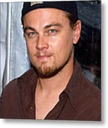 Leonardo Dicaprio Arrives Metal Print by Everett