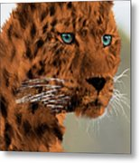 Leopard - Featured In The Group Wildlife Metal Print