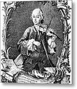 Leopold Mozart (1719-1787) Metal Print