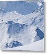 Les Arcs, France Metal Print