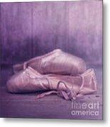 Les Chaussures De La Danseue Metal Print