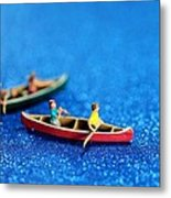Let's Boating Together Metal Print by Paul Ge