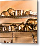 Lets Cook Tonight Metal Print
