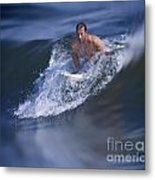 Let's Go Surfing Metal Print