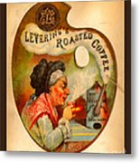 Levering's Roasted Coffee Metal Print