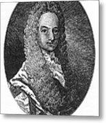 Lewis Morris (1671-1746) Metal Print by Granger