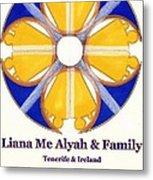Liana Me Alyah Metal Print
