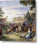 Liberty Pole, 1776 Metal Print