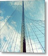 Liberty Pole Metal Print