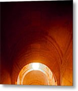 Library Arches Metal Print