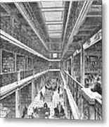Library Of Congress, 1880 Metal Print by Granger