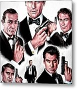 Licence To Kill  Digital Metal Print by Andrew Read