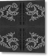 Licorice And Lace Metal Print