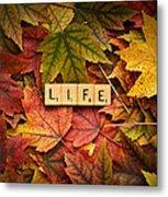 Life-autumn Metal Print