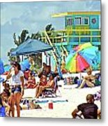 Life Is A Beach Metal Print by Dieter  Lesche