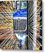 Life Is A Highway Metal Print