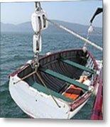 Lifeboat From The Schooner Margaret Todd Metal Print