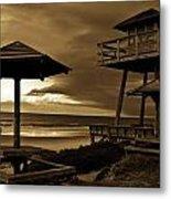 World War II Coastal Watchtower Metal Print