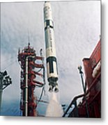 Lift-off Of Gemini-titan 11, Cape Metal Print
