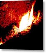 Light And Heat Metal Print