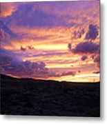Light At The End Of The Day Metal Print