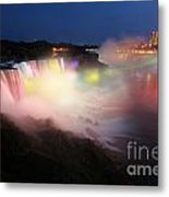 Light From The Canadians Metal Print