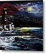 Light In The Night Metal Print