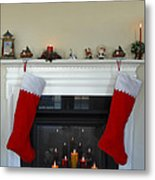 Light Of Christmas Metal Print
