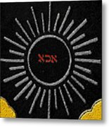 Light Of God Metal Print