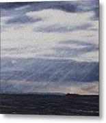 Light Through The Clouds Metal Print