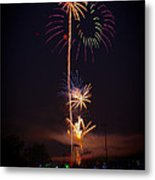 Light Up The Night Metal Print by David Hahn