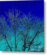 Light Where You Can Not See It Metal Print
