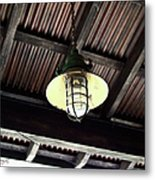 Light With Wireguard Metal Print