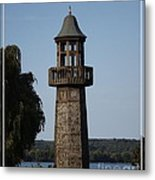 Lighthouse At Lake Chautauqua Metal Print