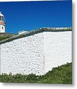 Lighthouse At St Johns Point, Donegal Metal Print