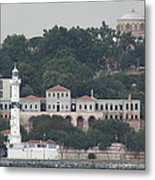 Lighthouse At The Bosphorus - Istanbul Metal Print