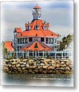 Lighthouse Charm Metal Print