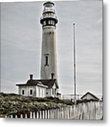 Lighthouse Metal Print by Heather Applegate