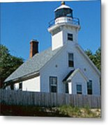 Lighthouse Near The Beach Metal Print