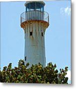Lighthouse On Grand Turk 2 Metal Print
