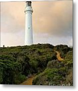 Lighthouse Path Metal Print
