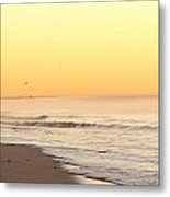Lighthouse Sunrise Metal Print